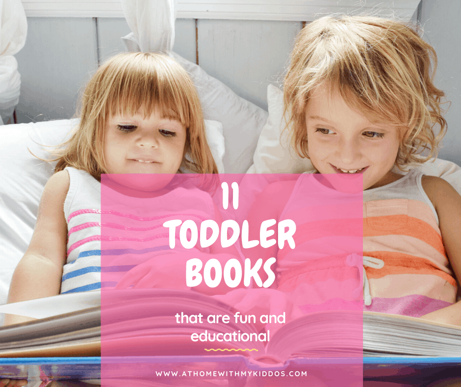 toddlers reading books