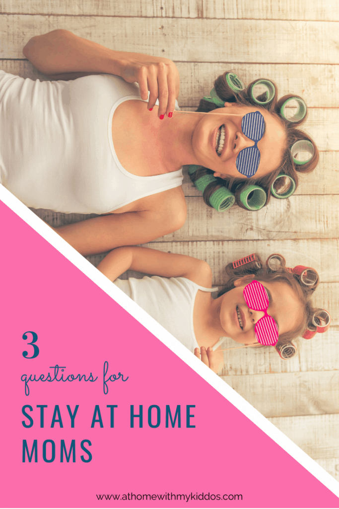 3 question survey for stay-at-home moms