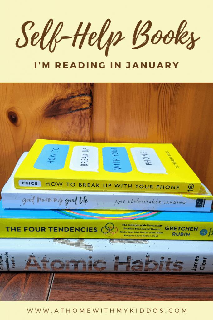 Self Help Books I'm Reading in January